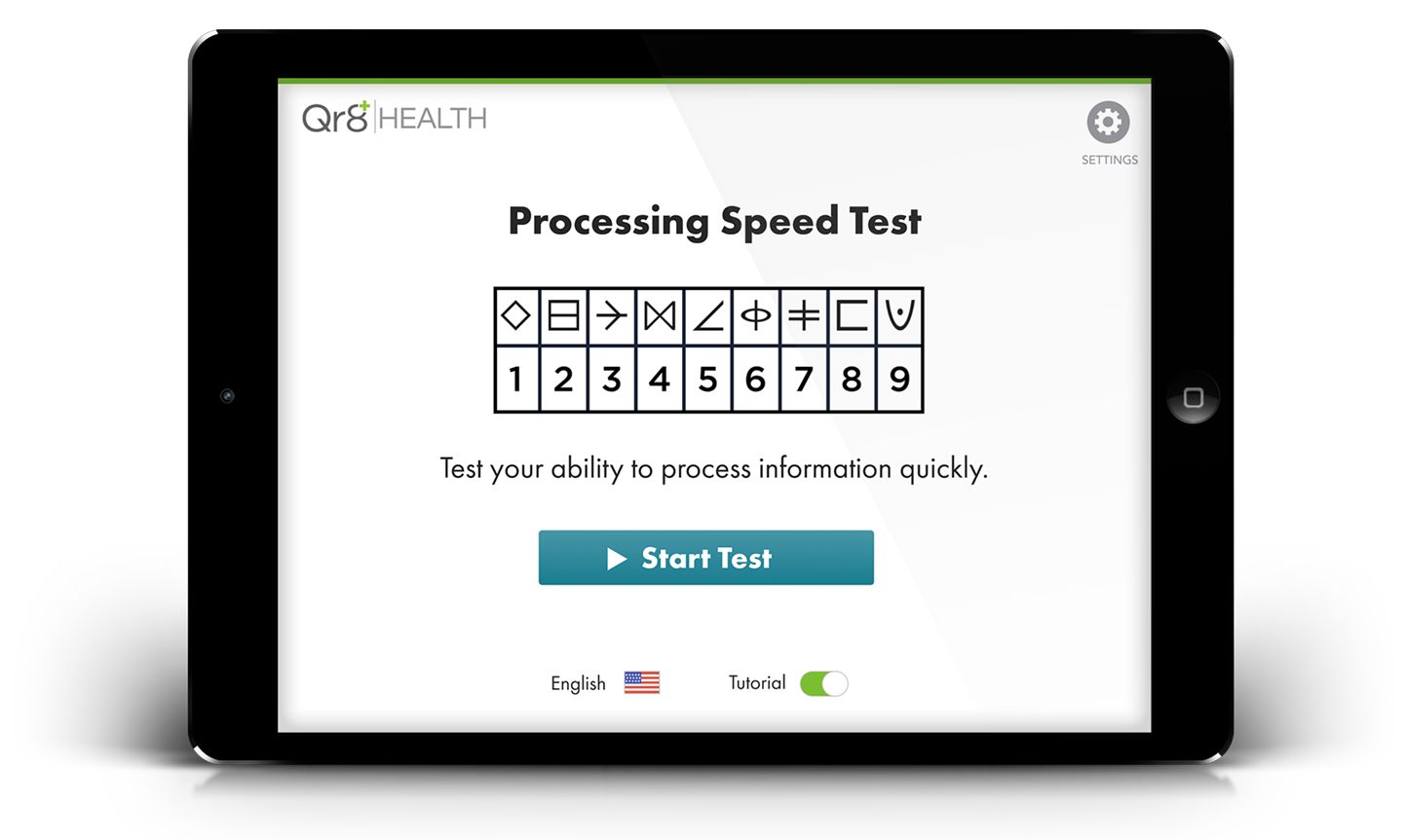 Processing Speed Test